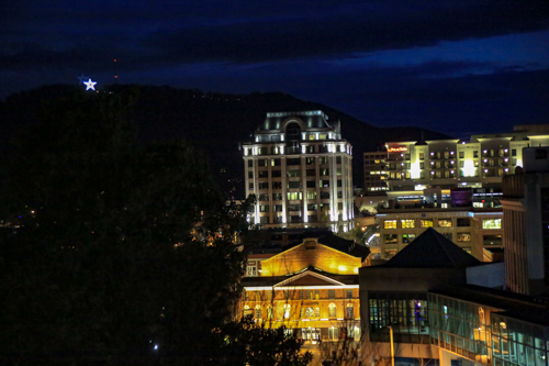 Photo taken from our Roanoke Hotel room - Dale R. Carlson