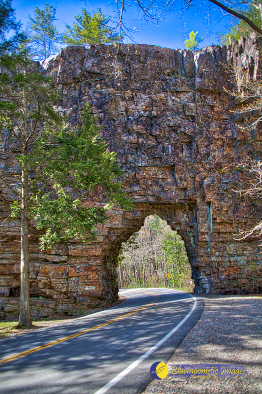 Backbone Rock Tunnel - Photo by Dale R. Carlson