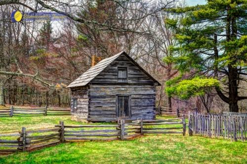 Puckett's Cabin - by Dale R. Carlson
