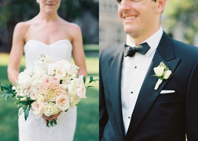 Ivory and Blush Lush Bouquet