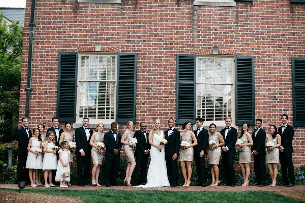 Carolina Inn Bridal Party