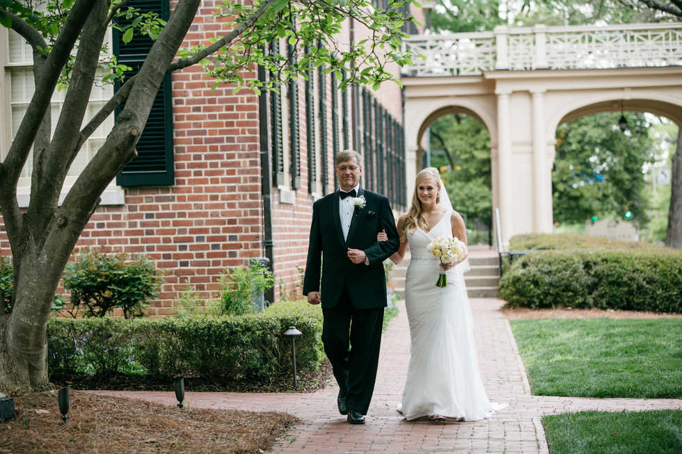 Anne Hill Courtyard Ceremony