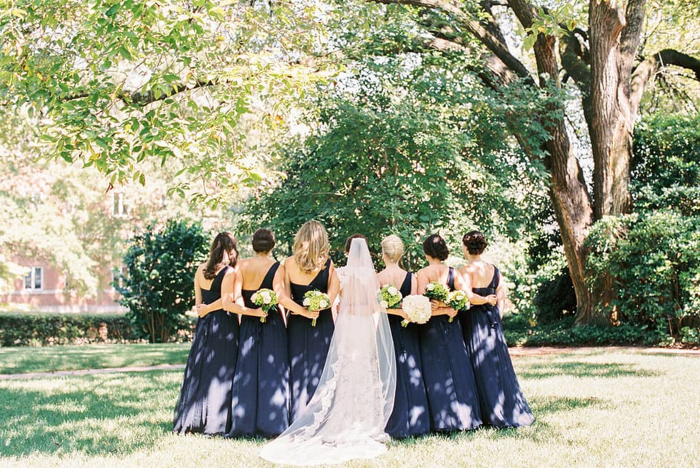 Summer Navy Bridesmaid Dresses