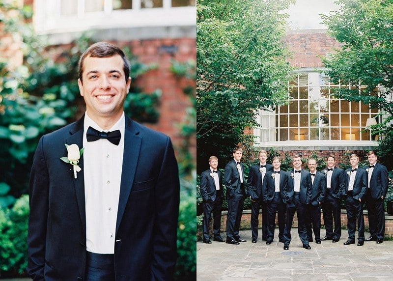 Southern groomsmen North Carolina