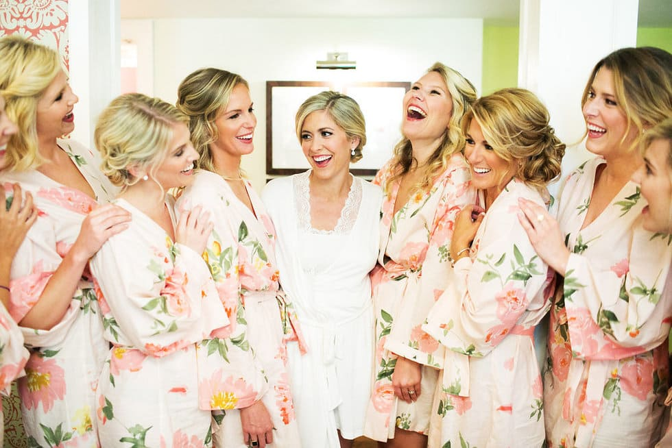 Plum Pretty Sugar Robes Chapel Hill Bride