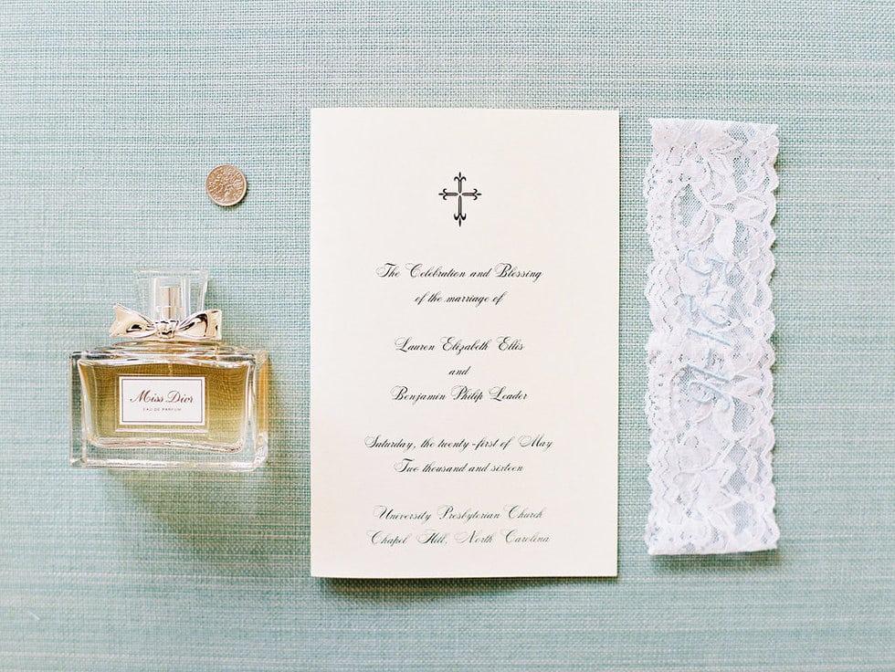 Miss Dior wedding day