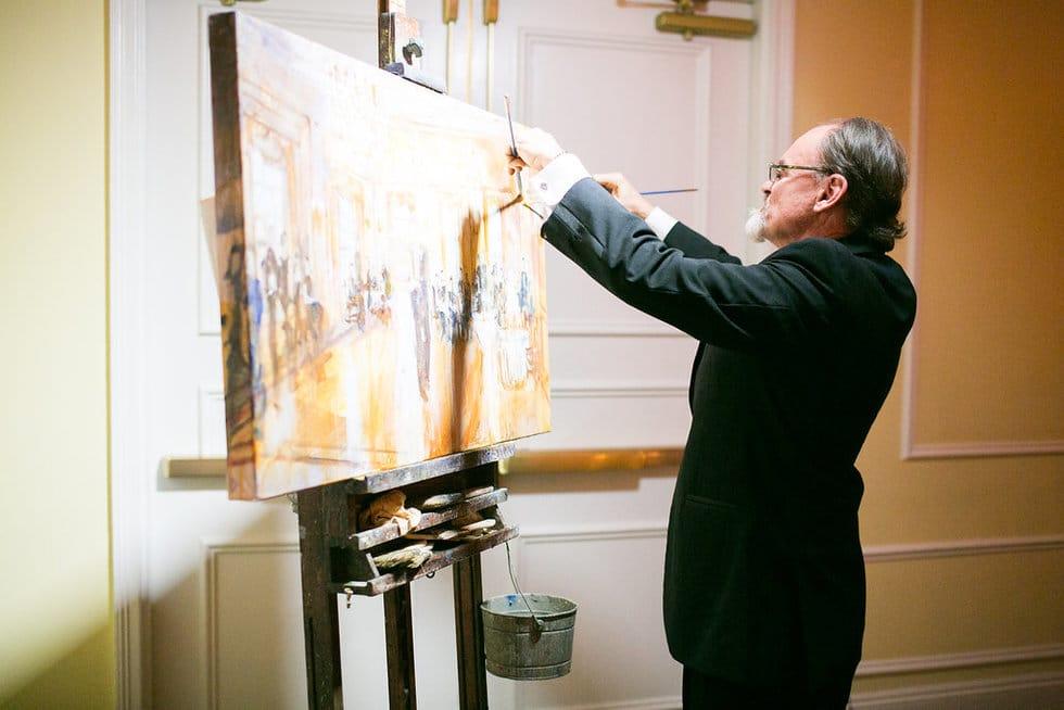 Dan Nelson Live Painter