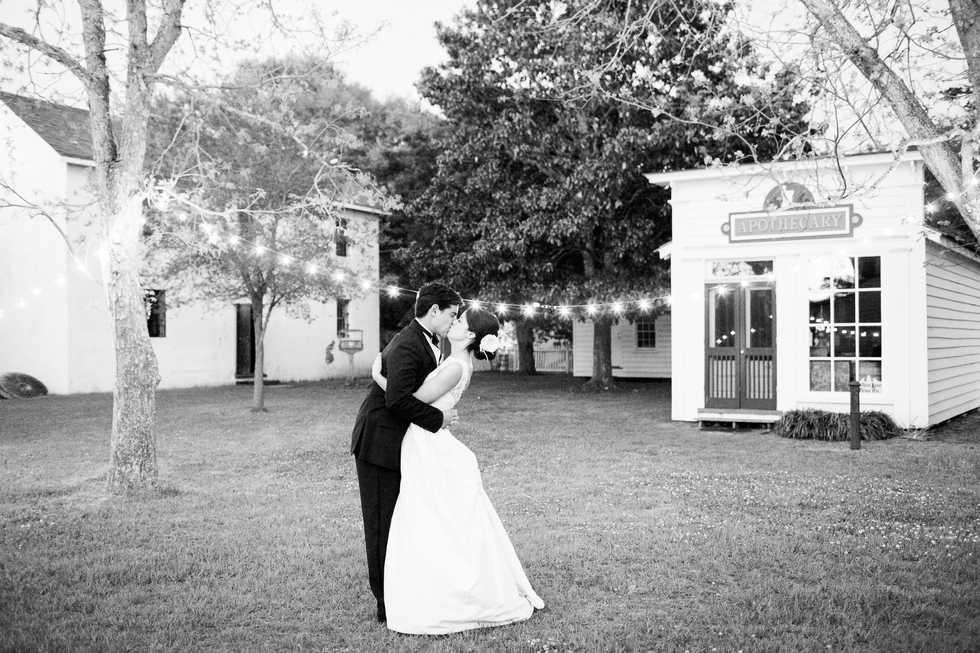 Beaufort Historical Site Wedding