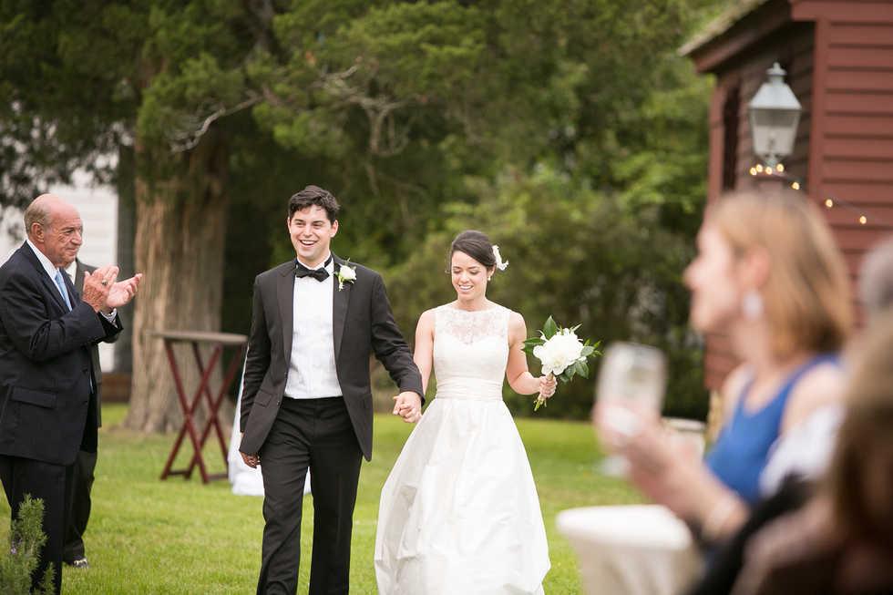 Beaufort Tent Wedding