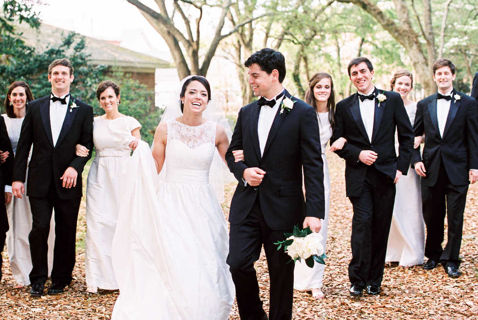 Southern Bridal Party
