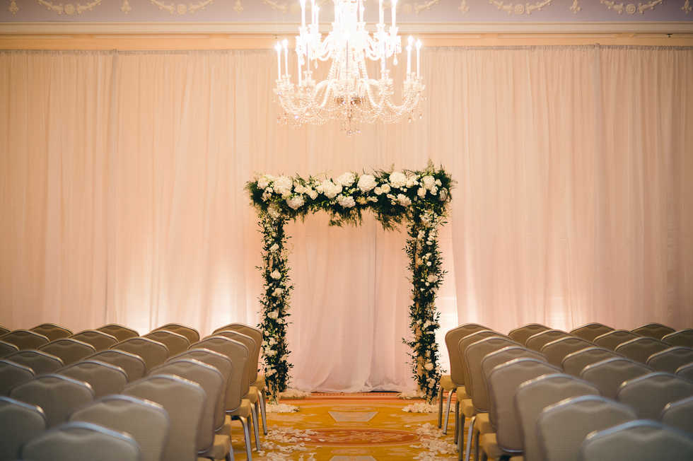 Ceremony Space - Chancellors Ballroom