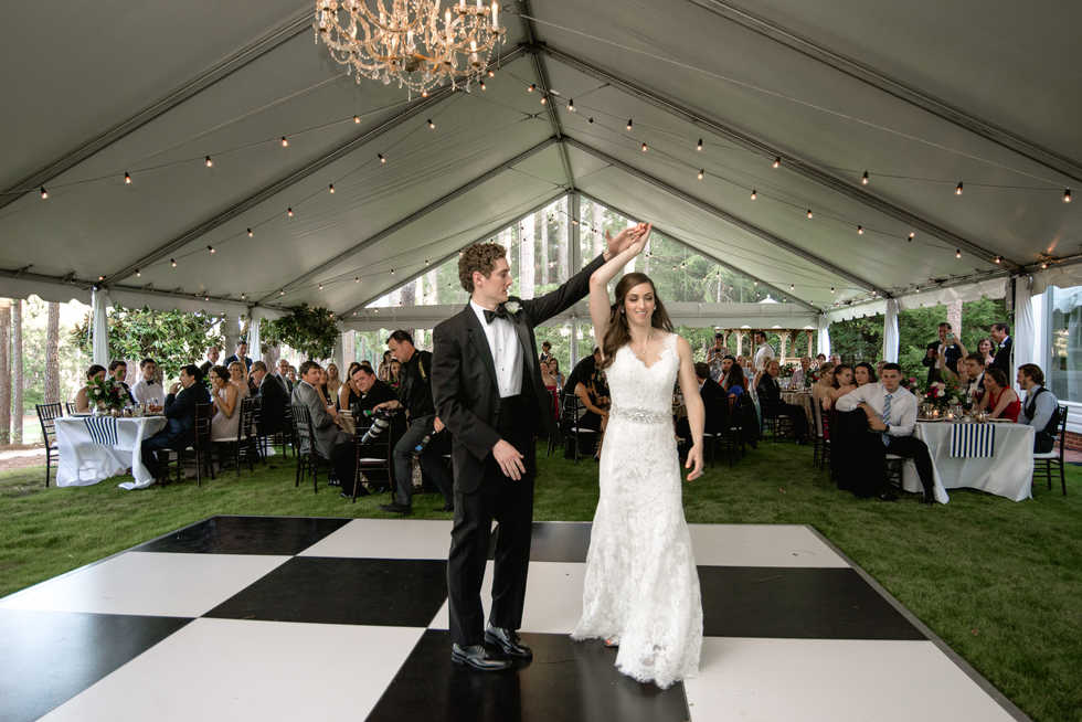Clear Tent Wedding