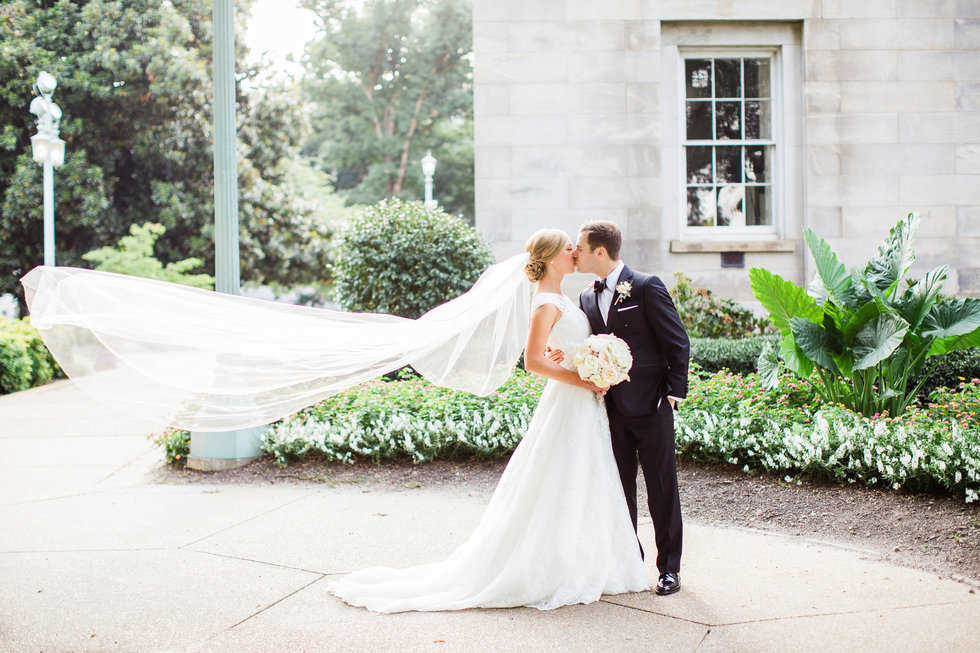 Raleigh Bride and Groom