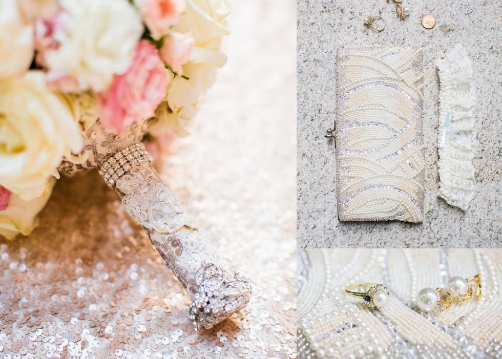 Crystal Bouquet Accessories