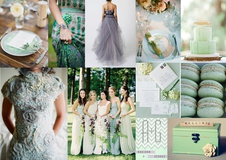 Inspire-Me Monday: A Grey and Green Wedding — McLean Events