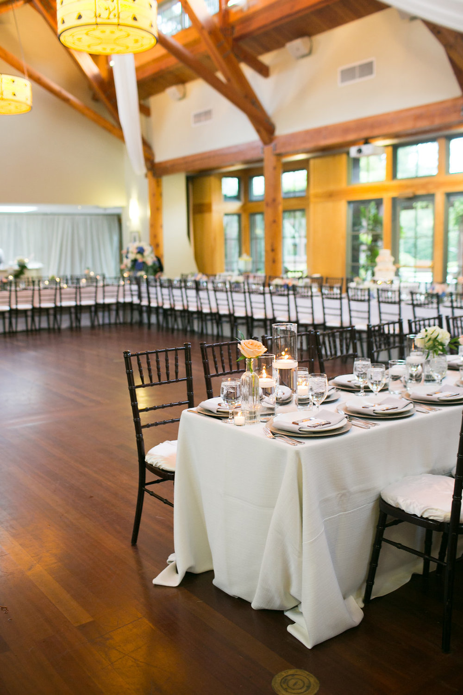 Duke Gardens wedding reception at Kirby Horton Hall