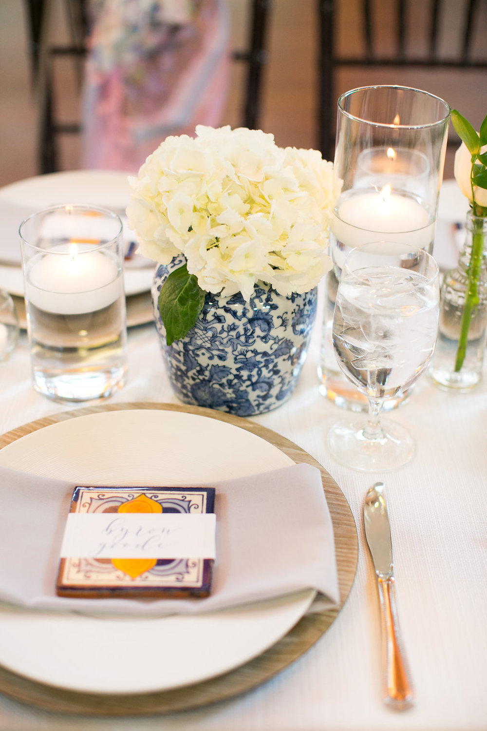 Luxurious Spanish inspired wedding tablescape