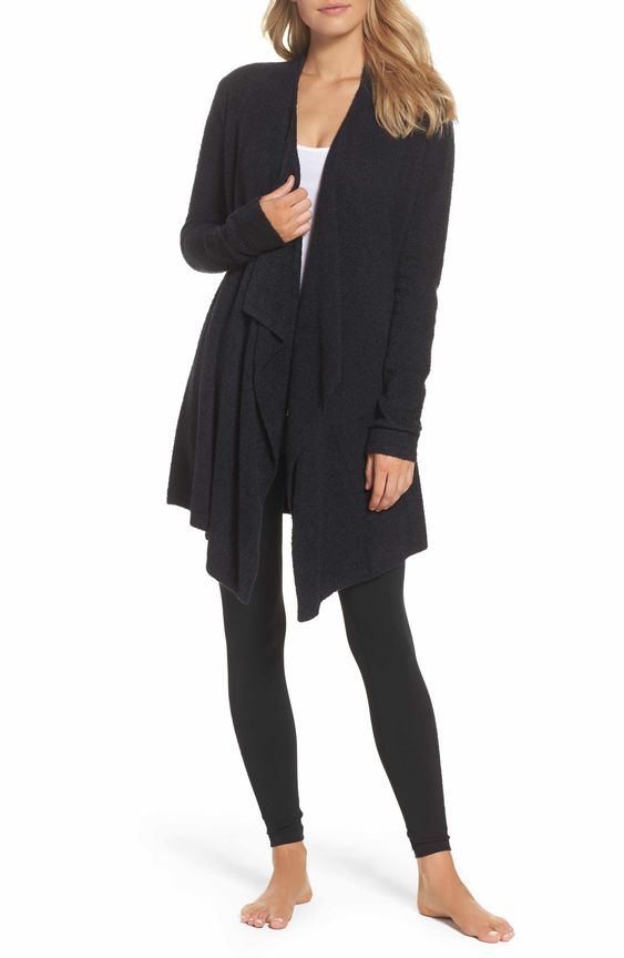 Barefoot Cardigan - A McLean Events Team favorite! Barefoot Dreams is the softest, coziest, dreamiest line of products out there. We all own the robe, but for something more versatile we recommend the cardigan!
