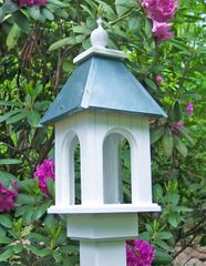 Camellia Bird Feeder - Another local find - these handcrafted bird feeders and houses are stunning and so well made. Such a pretty addition to Mama's backyard!