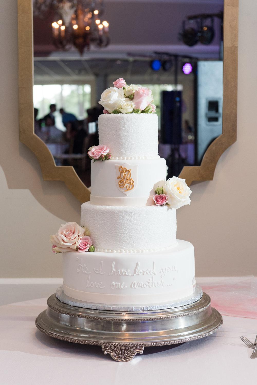White Wedding Cake CCNC Wedding.JPG