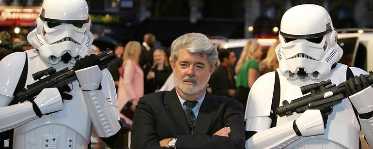 Io voglio troppo bene a zio George. Cioè, guardatelo!