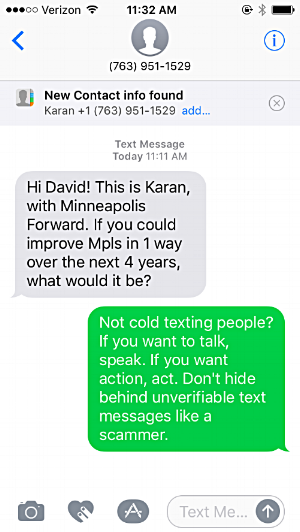 Another Day, Another Funny Text Message Screen Shot — Honest ...