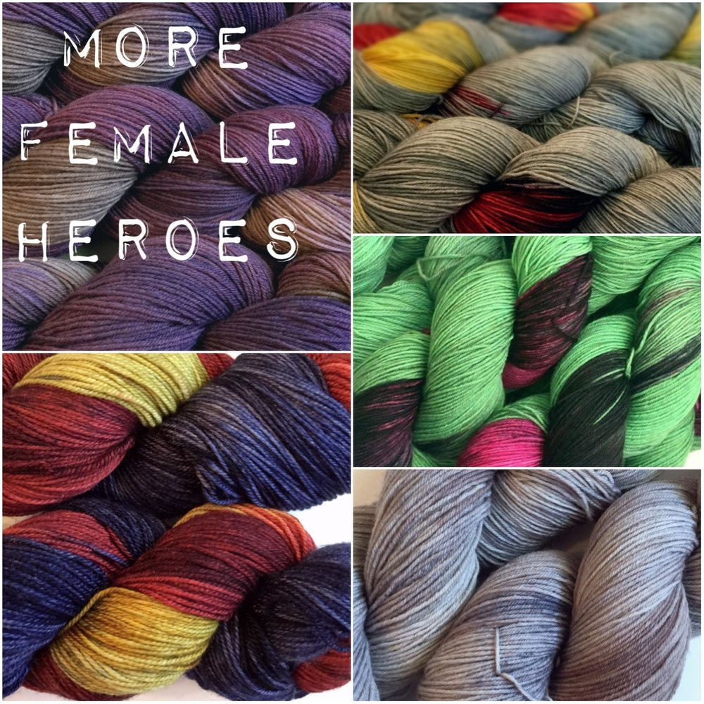 Female Heroes Yarn and Fiber Club