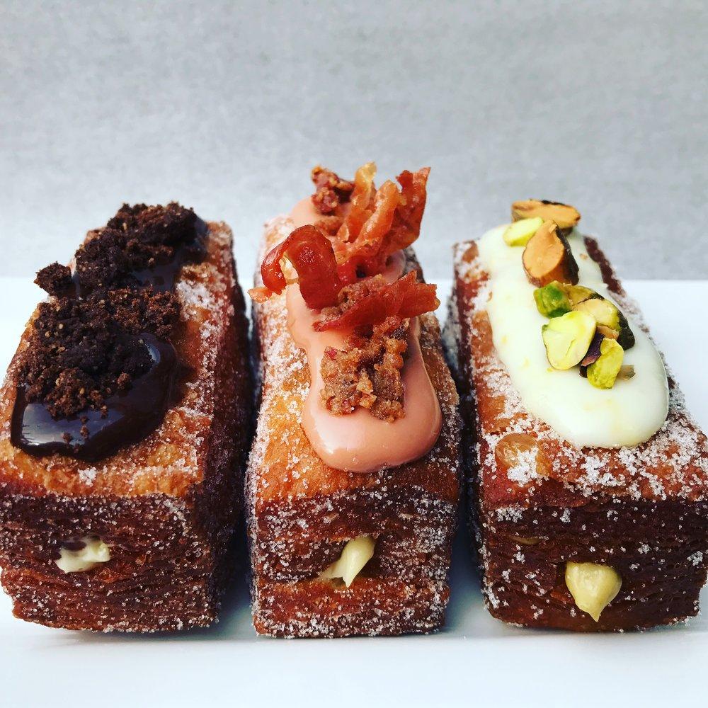 Croissant Donut Trio