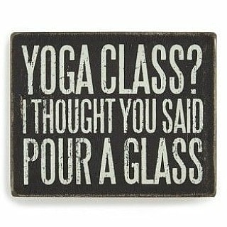 Yes, YOGA CLASS and YES, we said pour a glass. Join Amanda for a glass of wine and a gentle-fun yoga flow. Expect occasional holds 😉 Cost is $15 and includes a glass of wine. $17 with a mat rental or bring your own! July 25 @ 5:30pm.