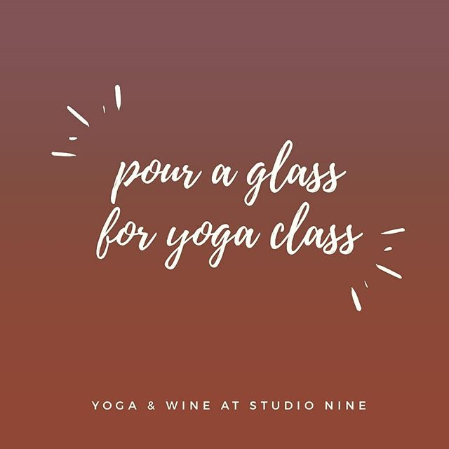 Tomorrow @5:30pm. Join Amanda for a glass of wine and a gentle-fun yoga flow. Expect occasional holds 😉 Cost is $15 and includes a glass of wine. $17 with a mat rental or bring your own! July 25 @ 5:30pm @mandajo65