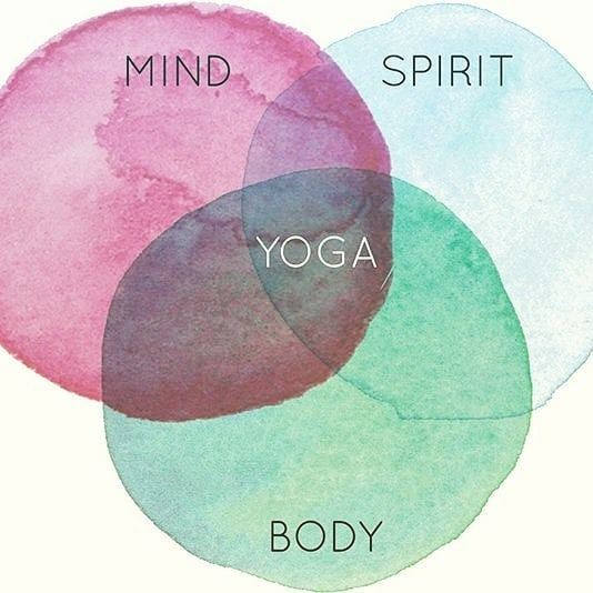Thursday Noon Yoga- come in for a mid day yoga snack 😉 We also have line dance at 6pm!