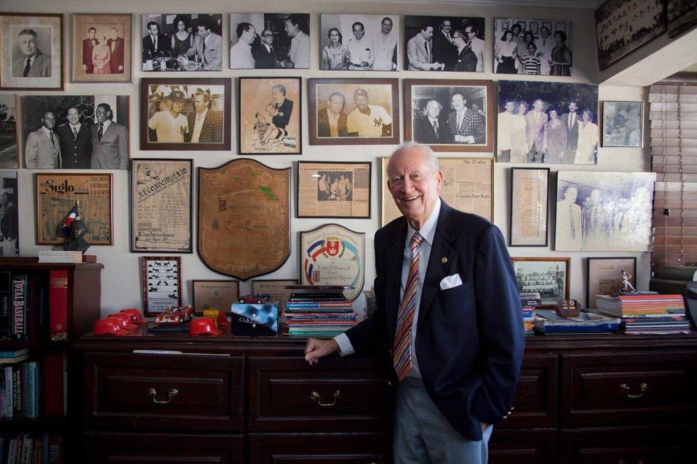 NYT Dominican Baseball Historian Cuqui Cordova