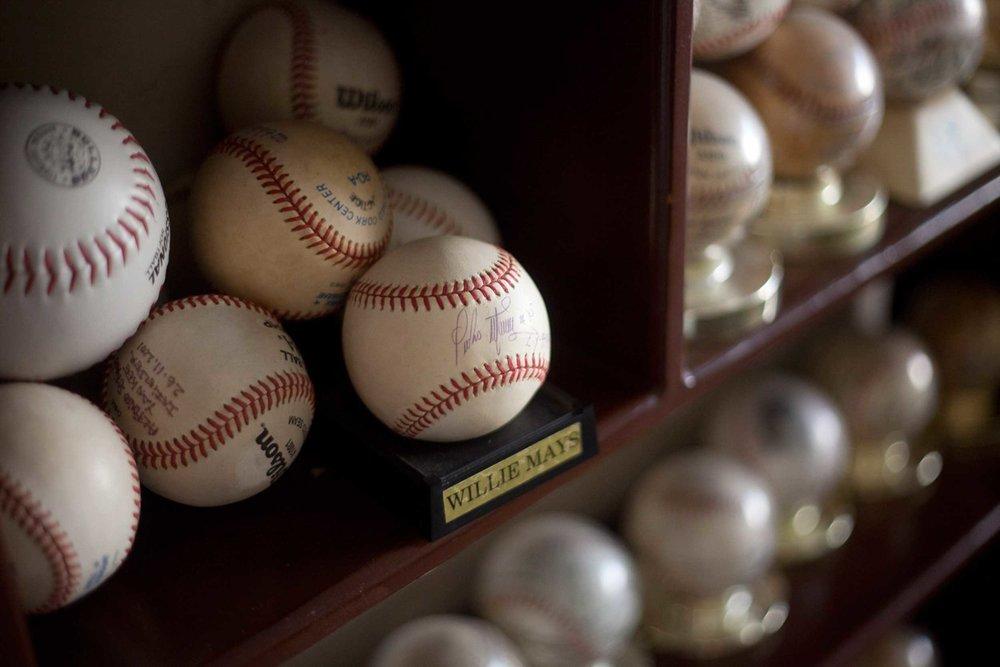 NYT Signed Baseballs