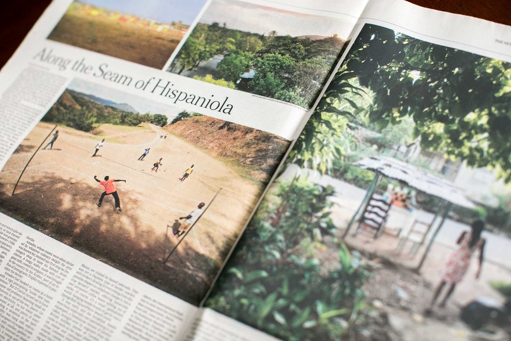 NYT Julia Alvarez Dominican Haitian Border Hispaniola