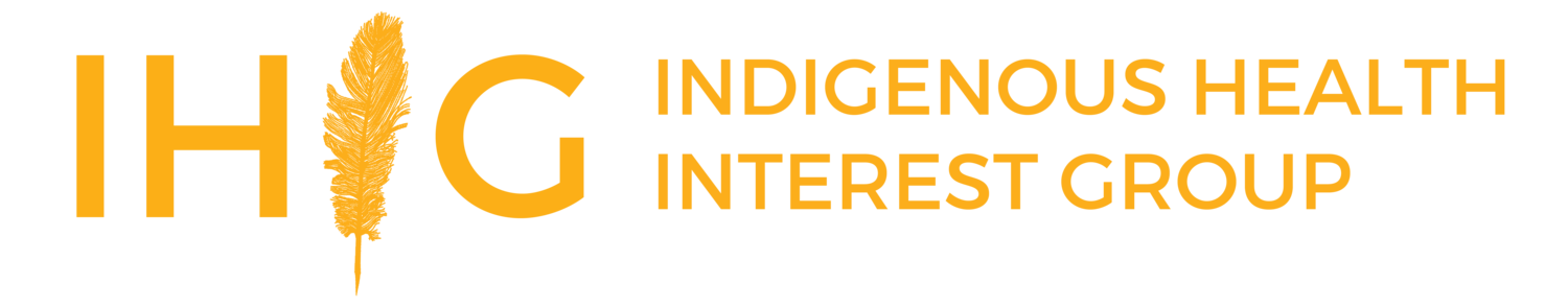 IHIG: Indigenous Health Interest Group