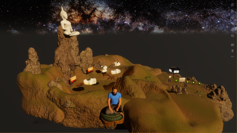 Our Meditation Space in Sansar is Out of this World!