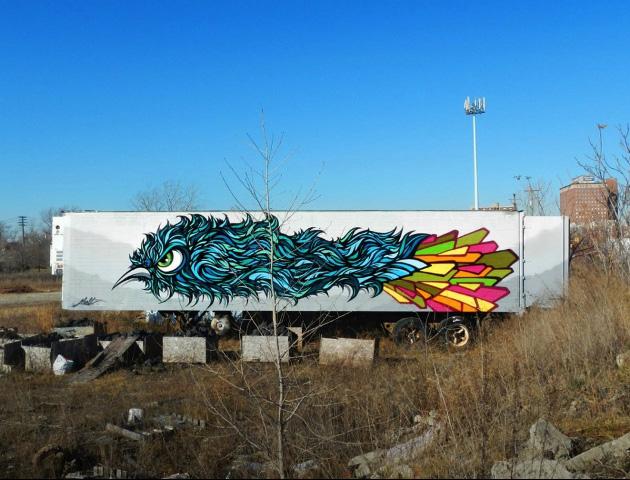 """""""Plankin"""", Detroit, MI"""
