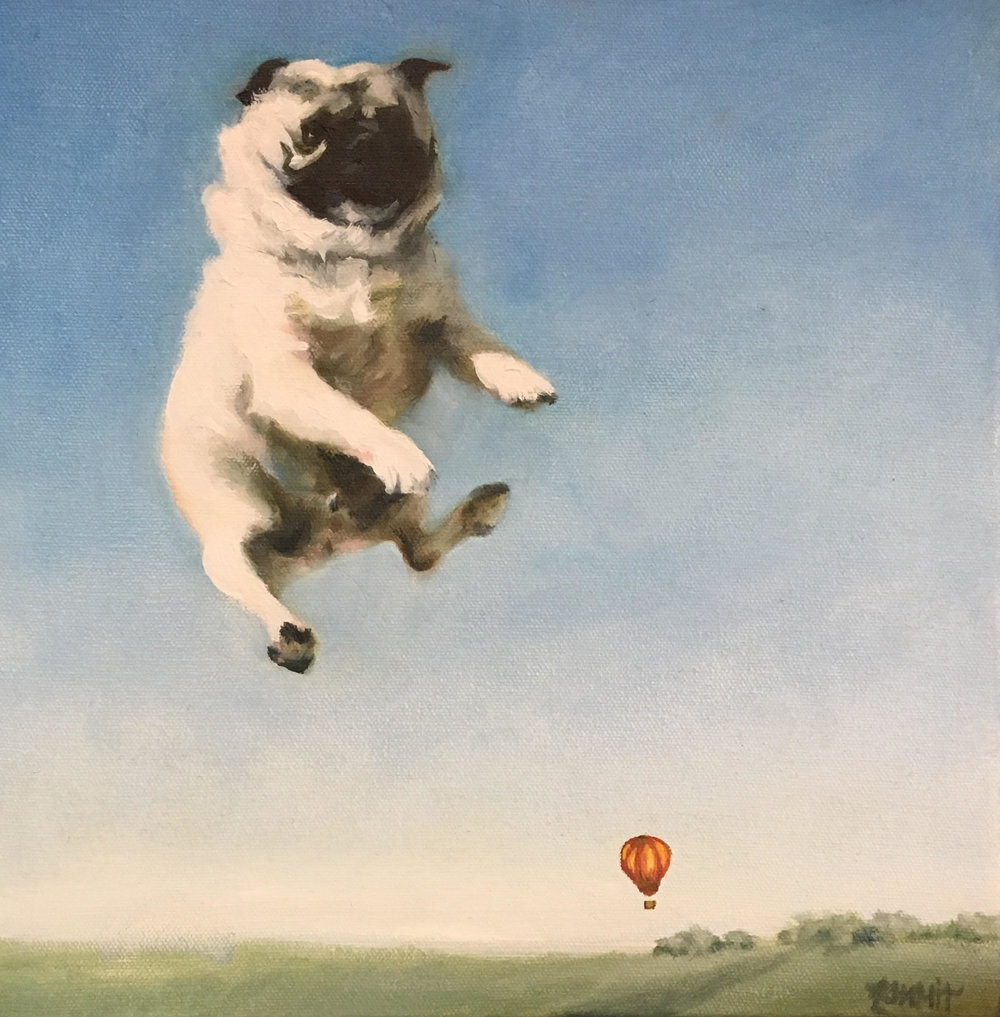 Flight 313 (When Pugs Fly), 2018