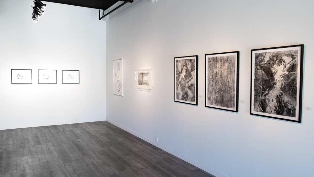 Drawings Group Exhibition Installation