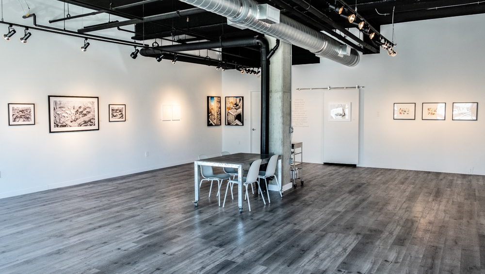 """""""Drawings"""" Exhibition Installation"""