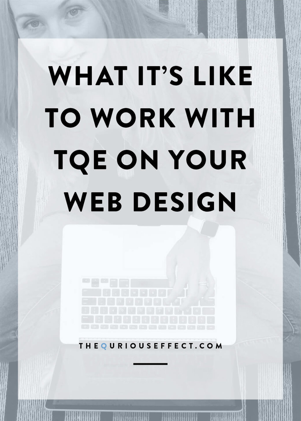 What it's like to work with The Qurious Effect on your Squarespace Website Design