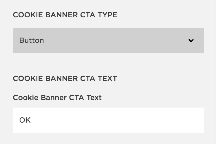 Image of Squarespace Cookie Banner CTA Type Button | The Qurious Effect