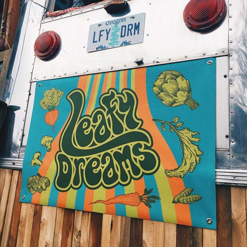 Leafy Dreams Food Cart