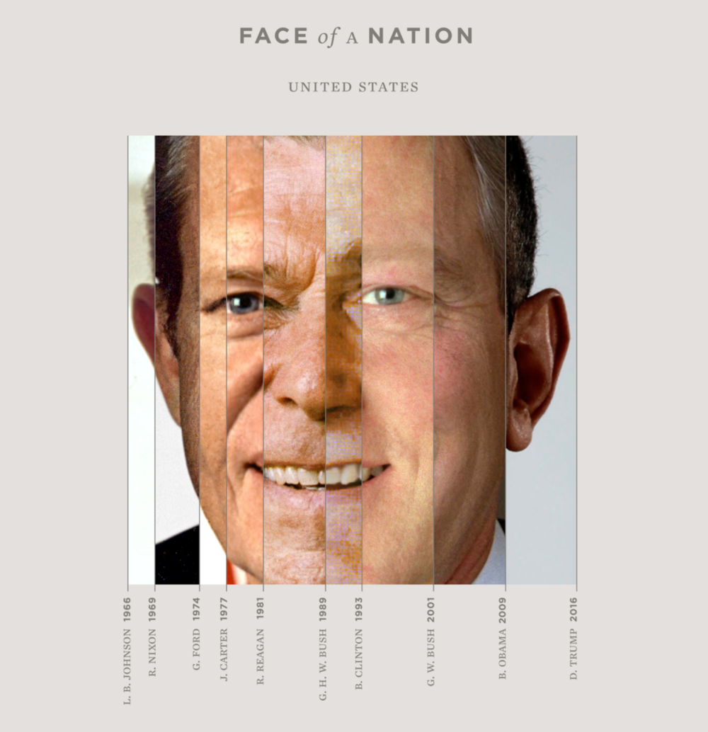 """Face of a Nation."" by Guney Soykan. Image via his  website ."