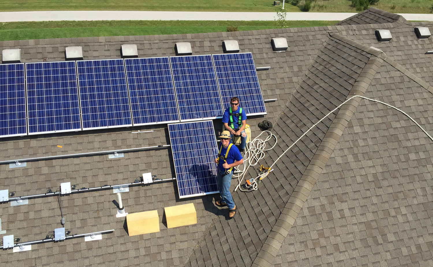 How Solar Works Skywire Panel Installation Wiring Diagram Installing Panels