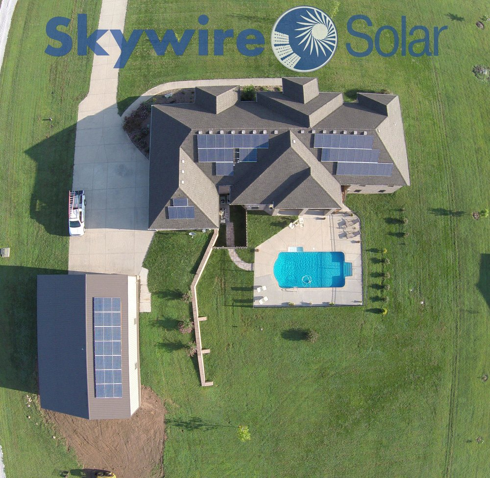 Solar Panel Installation Projects Skywire House Wiring Residential Install Ozark Mo