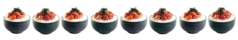 Smoked Ahi Tuna and Smoked Salmon Poke Bowls