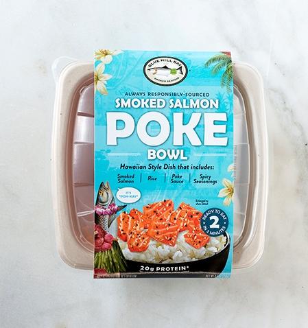Blue Hill Bay Smoked Salmon Poke Bowl