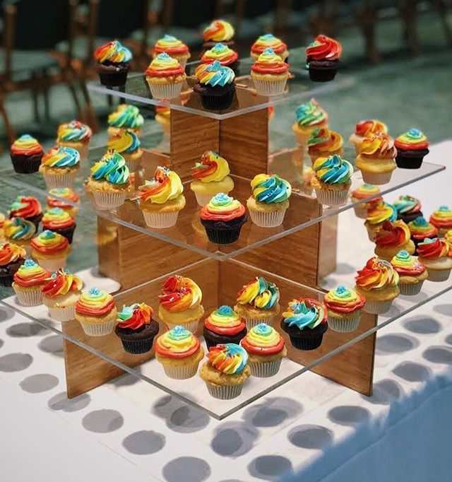 Fill the world with color!  #catering #cupcakes #fridays