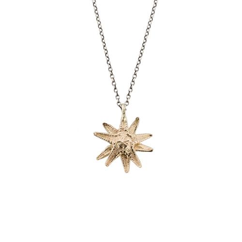 GOLD STARFISH Lauren Wolf Jewelry